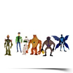 6PCS Ben 10 Action Figures Set Ben Alien